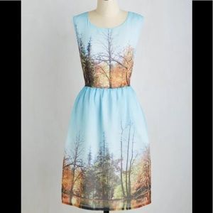 Modcloth My Forest Love Dress